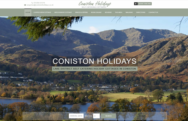 Coniston Holidays