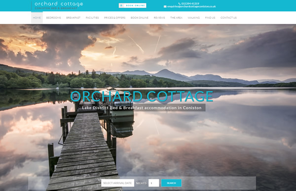 Orchard Cottage in Coniston